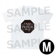 ロゴ Tシャツ 白(サイズM) / FAKE MOTION -卓球の王将-