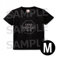 ロゴ Tシャツ 黒(サイズM) / FAKE MOTION -卓球の王将-