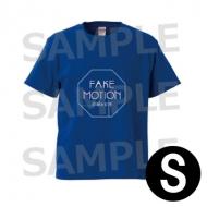 ロゴ Tシャツ 青(サイズS) / FAKE MOTION -卓球の王将-