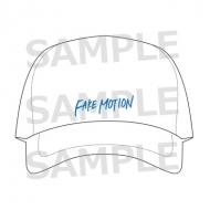 刺繍ロゴCAP 白 / FAKE MOTION -卓球の王将-