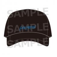 刺繍ロゴCAP 黒 / FAKE MOTION -卓球の王将-