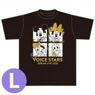[2次受付] Tシャツ(L)/ Disney 声の王子様 Voice Stars Dream Live 2020
