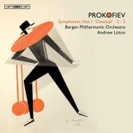交響曲第1番『古典交響曲』、第2番、第3番 アンドルー・リットン&ベルゲン・フィル