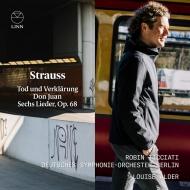 ドン・ファン、死と浄化、6つの歌 ロビン・ティチアーティ&ベルリン・ドイツ交響楽団、ルイーズ・オルダー