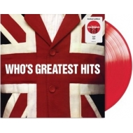 Who' s Greatest Hits (レッドヴァイナル仕様/アナログレコード)