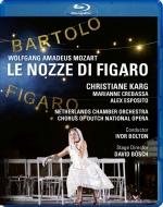 『フィガロの結婚』全曲 D.ベッシュ演出、アイヴァー・ボルトン&オランダ室内管、クリスティアーネ・カルク、ドゥグー、他(2016 ステレオ)(日本語字幕・解説付)