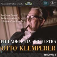 ブラームス:交響曲第3番、シューマン:交響曲第4番、他 オットー・クレンペラー&フィラデルフィア管弦楽団(1962年ステレオ)