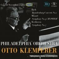 Sym, 7, : Klemperer / Philadelphia O +mozart: Sym, 41, J.s.bach: Brandenburg Concerto, 1, (1962)(Uhqcd)
