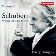 シューベルト:ピアノ・ソナタ第17番、第14番、『白鳥の歌』より『愛の便り』『セレナード』 バリー・ダグラス