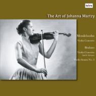 ブラームス:ヴァイオリン・ソナタ第3番、メンデルスゾーン:ヴァイオリン協奏曲、他 ヨハンナ・マルツィ、アントニエッティ、他 (2枚組アナログレコード/Altus)