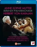 Beethoven Violin Concerto, Vivaldi Four Seasons, Bach Concerto No.2, etc : Anne-Sophie Mutter(Vn)Herbert von Karajan / Berlin Philharmonic (1984, 1987)