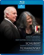 チャイコフスキー:ピアノ協奏曲第1番、シューベルト:未完成 マルタ・アルゲリッチ、ダニエル・バレンボイム&ウェスト=イースタン・ディヴァン管弦楽団