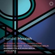 『メサイア』 ジャスティン・ドイル&ベルリン古楽アカデミー、RIAS室内合唱団、他(2CD)