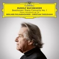 ピアノ協奏曲第1番、6つの変奏曲 ルドルフ・ブッフビンダー、クリスティアーン・ティーレマン&ベルリン・フィル