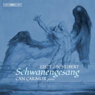 シューベルト:白鳥の歌(リスト編)、リスト:4つの忘れられたワルツ ジャン・チャクムル