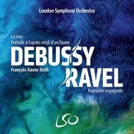ドビュッシー:海、牧神の午後への前奏曲、ラヴェル:スペイン狂詩曲 フランソワ=グザヴィエ・ロト&ロンドン交響楽団(日本語解説付)