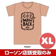 COJ Tシャツ(サーモン)XLサイズ 2回目受付