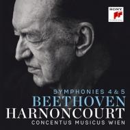交響曲第4番、第5番『運命』 ニコラウス・アーノンクール&ウィーン・コンツェントゥス・ムジクス