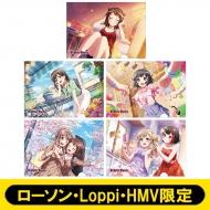 A4クリアファイル5枚セットA (Poppin'Party)【ローソン・Loppi・HMV限定】