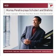 Murray Perahia Plays Brahms and Schubert (8CD)