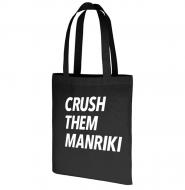 MANRIKIトートバッグ(黒) / 映画「MANRIKI」劇場グッズ