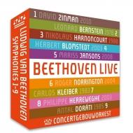 交響曲全集 コンセルトヘボウ管弦楽団、カルロス・クライバー、バーンスタイン、アーノンクール、ヤンソンス、ヘレヴェッヘ、ブロムシュテット、ノリントン、他(5CD)