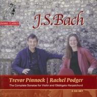 6つのヴァイオリン・ソナタ、他 レイチェル・ポッジャー、トレヴァー・ピノック(2CD)(特別価格限定盤)