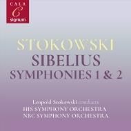 交響曲第2番、第1番 レオポルド・ストコフスキー&NBC交響楽団、交響楽団