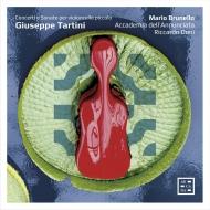 『タルティーニとチェロ〜チェロ・ピッコロによる協奏曲とソナタ』 マリオ・ブルネロ(4弦チェロ・ピッコロ)、リッカルド・ドーニ&アカデミア・デッラヌンチアータ