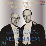 Berg Violin Concerto, Prokofiev Piano Concerto No.3 : Joseph Szigeti(Vn)Dimitris Mitropoulos(P)NBC Symphony Orchestra (1945)(UHQCD)