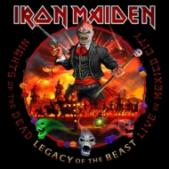 Nights Of The Dead, Legacy Of The Beast: Live In Mexico City (Hard Cover Book Edition)