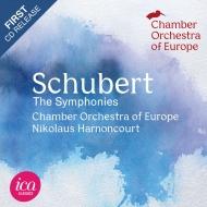 交響曲全集 ニコラウス・アーノンクール&ヨーロッパ室内管弦楽団(1988)(4CD)