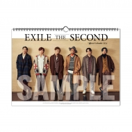 EXILE THE SECOND 2021 カレンダー / 壁掛け