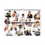 THE RAMPAGE 2021 カレンダー / 壁掛け