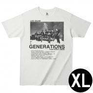LIVE×ONLINE PHOTO-T / GENERATIONS / XLサイズ