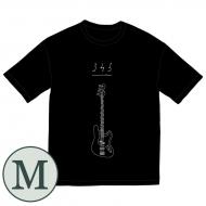345 bass Big Tシャツ[ブラック / M]