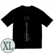 345 bass Big Tシャツ[ブラック / XL]