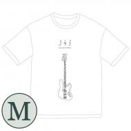 345 bass Big Tシャツ[ホワイト / M]