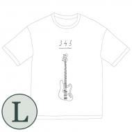 345 bass Big Tシャツ[ホワイト / L]