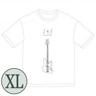 345 bass Big Tシャツ[ホワイト / XL]