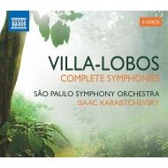 交響曲全集 イサーク・カラブチェフスキー&サンパウロ交響楽団(6CD)