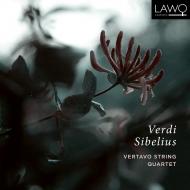 ヴェルディ:弦楽四重奏曲、シベリウス:弦楽四重奏曲『親愛なる声』 ヴェルターヴォ弦楽四重奏団