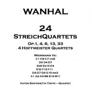 24の弦楽四重奏曲集 ハイドン・シンフォ二エッタ トウキョウ(8CD)