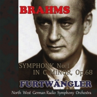 Symphony No.1, Haydn Variations : Wilhelm Furtwangler / NDR Symphony Orchestra (1951)
