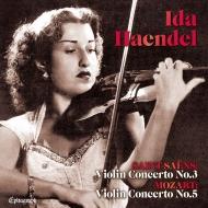 Violin Concerto, 3, : Haendel(Vn)Haitink / Netherlands Radio Po +mozart: Concerto, 5, : Scaglia / Etc (Uhqcd)