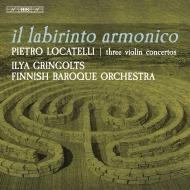 『ヴァイオリンの技法』より3つの協奏曲 イリヤ・グリンゴルツ、フィンランド・バロック管弦楽団
