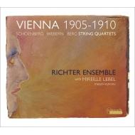 String Quartet, 2, : Richter Ensemble Mireille Lebel(Ms)+berg: String Quartet, Webern: Langsamer Satz