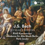 世俗カンタータ集 ルネ・ヤーコプス&ベルリン古楽アカデミー、RIAS室内合唱団(2CD)