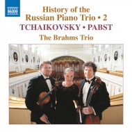 The History Of Russian Piano Trio Vol.2-tchaikovsky, Pabst: Brahms Trio
