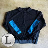 Collar Switching Pullover Shirts[L]